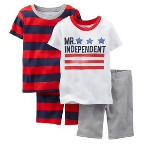Carter's Baby Boys 4-Pc. Independent PJ's Set, 9M